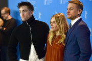 Actor Robert Pattinson, actress Sienna Miller and actor Charlie Hunnam attend the 'The Lost City of Z' photo call during the 67th Berlinale International Film Festival Berlin at Grand Hyatt Hotel on February 14, 2017 in Berlin, Germany.