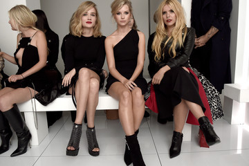 Lottie Moss Front Row & Arrivals: Day 2 - LFW SS16