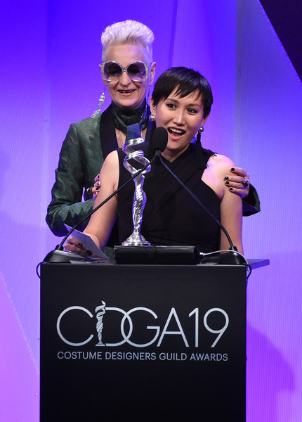 Lou Eyrich Helen Huang Lou Eyrich And Helen Huang Photos 19th Cdga Costume Designers Guild Awards Show And Audience Zimbio