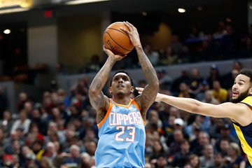 Lou Williams Los Angeles Clippers v Indiana Pacers