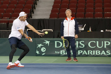Louis Cayer Canada v GB: Davis Cup by BNP Paribas World Group First Round - Party