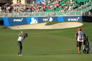 Louis Oosthuizen DP World Tour Championship - Day Two