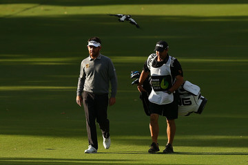 Louis Oosthuizen ISPS HANDA World Super 6 Perth - Round One