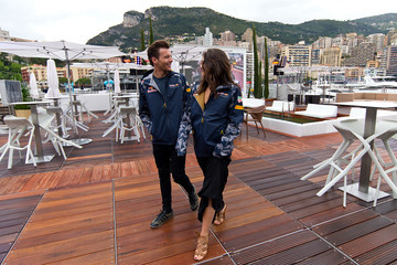 Louis Tomlinson Celebrities Visit the Red Bull Energy Station