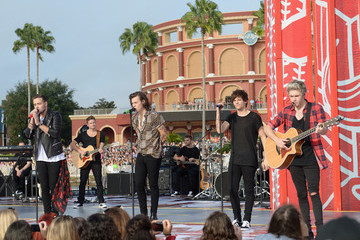 Louis Tomlinson One Direction Visits the 'Today' Show