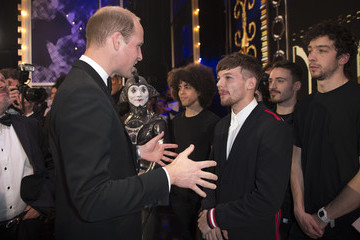 Louis Tomlinson The Duke & Duchess Of Cambridge Attend The Royal Variety Performance