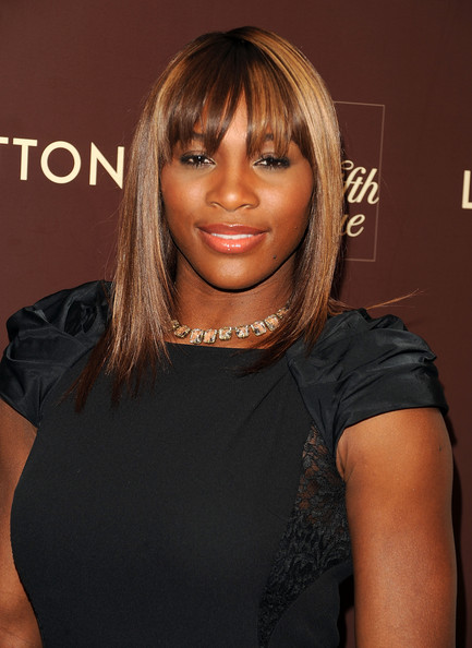 Tennis star Serena Williams attends the Louis Vuitton 2010 Cruise Collection launch at Louis Vuitton Saks Lifestyle on November 10, 2009 in New York City.