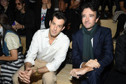 (L-R) Mark Ronson and Antoine Arnault attend the Louis Vuitton Womenswear Spring/Summer 2020 show as part of Paris Fashion Week on October 01, 2019 in Paris, France.