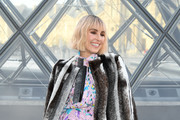 Noomi Rapace attends the Louis Vuitton show as part of the Paris Fashion Week Womenswear Fall/Winter 2019/2020  on March 05, 2019 in Paris, France.