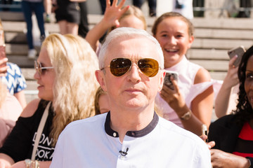 Louis Walsh X Factor Bootcamp Arrivals, London
