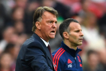 Louis van Gaal Manchester United v Crystal Palace - The Emirates FA Cup Final