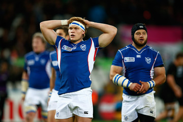 Louis van der Westhuizen New Zealand v Namibia - Group C: Rugby World Cup 2015