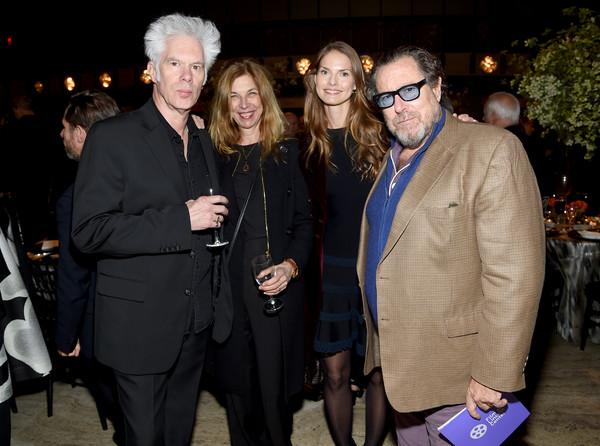 Film Society Of Lincoln Center's 50th Anniversary Gala - Inside [event,fashion,suit,fun,dinner,eyewear,night,party,formal wear,vision care,louise kugelberg,julian schnabel,sara driver,jim jarmusch,lincoln center,new york city,film society of lincoln center,50th anniversary gala - inside]