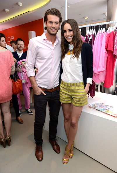 1afab7f63089f Louise Roe and Josh Slack Photos Photos - Celebs Attend JCPenney s ...