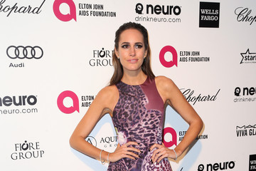 Louise Roe Arrivals at the Elton John AIDS Foundation Oscars Viewing Party — Part 4