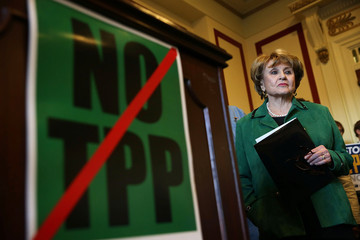 Louise Slaughter House Democrats Hold News Conf. Denouncing Trans-Pacific Partnership Deal