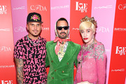 (L-R) Char Defrancesco, Marc Jacobs and Richie Rich attend Love Ball III at Gotham Hall on June 25, 2019 in New York City.