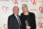 Julian Niccolini (L) and Amy Sacco attend Love Heals 2016 Gala: The Season Finale at The Four Seasons Restaurant on May 03, 2016 in New York, New York.