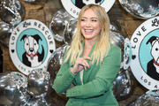 Hilary Duff attends Love Leo Rescue's 2nd Annual Cocktails for a Cause at Rolling Greens Los Angeles on November 06, 2019 in Los Angeles, California.
