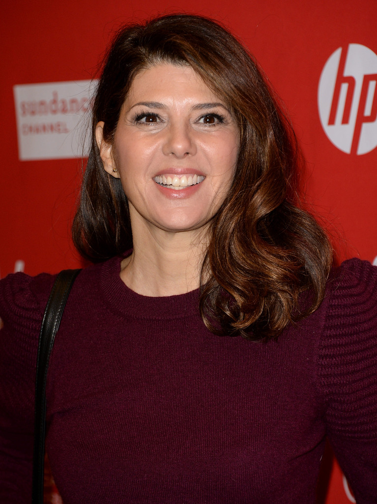 "Actress Marisa Tomei attends the premiere of ""Love Is Strange"" at the Eccles Center Theatre during the 2014 Sundance Film Festival on January 18, 2014 in Park City, Utah."