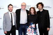 "Tyler Ross, Tracy Letts, Debra Winger and Azazel Jacobs attend the ""The Lovers"" premiere at BMCC Tribeca PAC on April 22, 2017 in New York City."