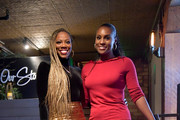 "Issa Rae and Yvonne Orji attend the Lowkey ""Insecure"" Dinner presented by Our Stories to Tell at Firewood on January 25, 2020 in Park City, Utah.."