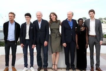 Luc Dardenne Adele Haenel 'The Unknown Girl (La Fille Inconnue)' Photocall - The 69th Annual Cannes Film Festival