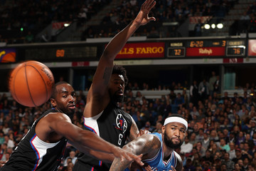 Luc Richard Mbah A Moute Los Angeles Clippers v Sacramento Kings