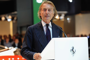 Luca Di Montezemolo 2010 Paris Motor Show - Press Day 2