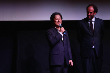 Luca Guadagnino Park Chan-Wook Meets the Audience