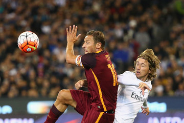 Luca Modric Real Madrid vs Roma
