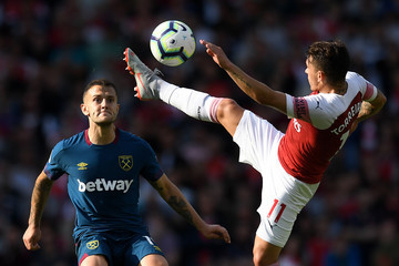 Lucas Torreira Arsenal vs. West Ham United - Premier League