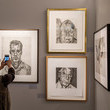 Lucian Freud Colourful Exhibition Celebrating British Art At Sotheby's