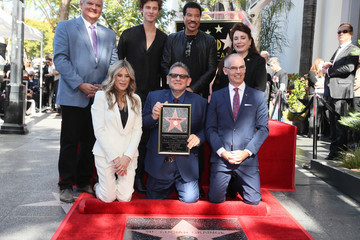 Lucian Grainge Sir Lucian Grainge Honored With A Star On The Hollywood Walk Of Fame