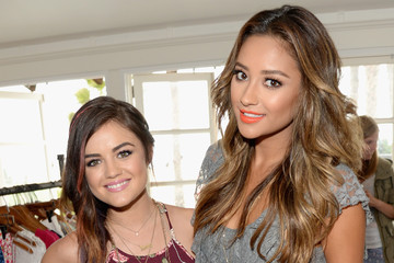 Lucy Hale Shay Mitchell Lucy Hale Performs in Santa Monica