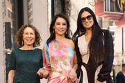 (L-R) Rhea Perlman, Lucy Liu and Demi Moore attend a ceremony honoring Liu with a star on the Hollywood Walk Of Fame on May 1, 2019 in Hollywood, California.