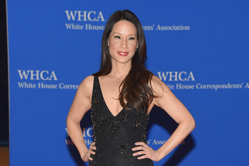 Lucy Liu 101st Annual White House Correspondents' Association Dinner - Inside Arrivals