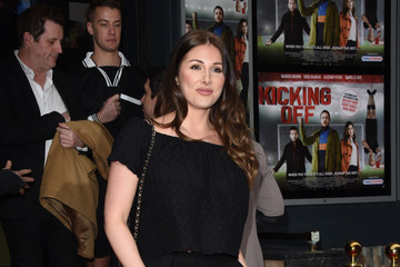 Lucy Pinder Gala Screening of 'Kicking Off' - Photocall