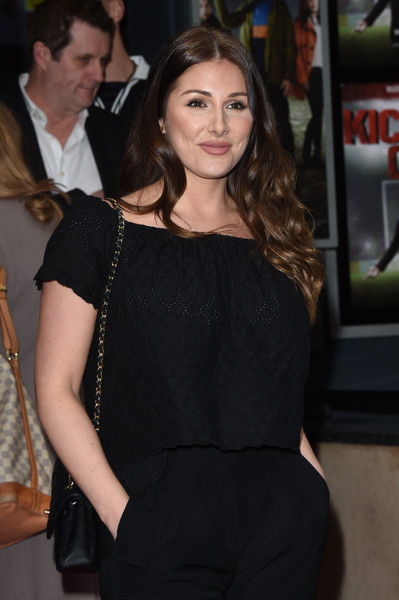 Gala Screening of 'Kicking Off' - Photocall [clothing,shoulder,hairstyle,premiere,fashion,dress,long hair,little black dress,event,brown hair,lucy pinder,photocall,london,united kingdom,gala screening,kicking off,gala screening]