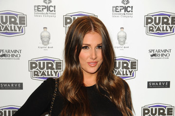 Lucy Pinder Helen Flanagan Launches New Super Car Rally