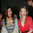 Ludovica Frasca Front Row at the Missoni Show