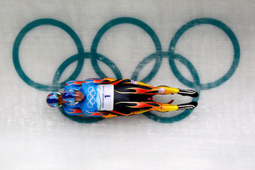 Mark Grimmette Luge - Day 4