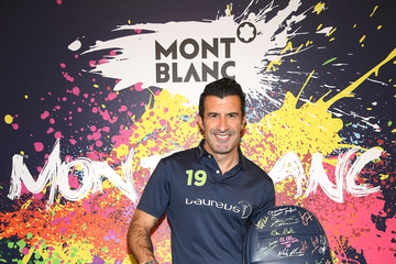 Luis Figo Montblanc Partners For Laureus Awards 2019 - Day Two : Photocall