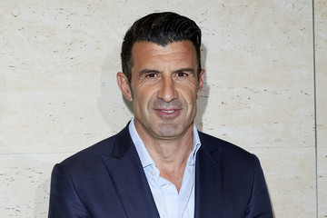 Luis Figo Technogym Inauguration In Madrid