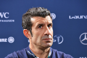 Luis Figo Media Interviews - 2017 Laureus World Sports Awards - Monaco