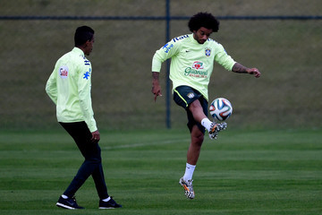 Luis Gustavo Brazil Training Session