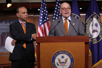 Luis Gutierrez Rep. Steve Cohen (D-TX) Holds News Conference Discussing Introduction of Articles of Impeachment Against the President