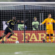 Luis Robles New York Red Bulls v Columbus Crew SC - Eastern Conference Finals - Leg 1