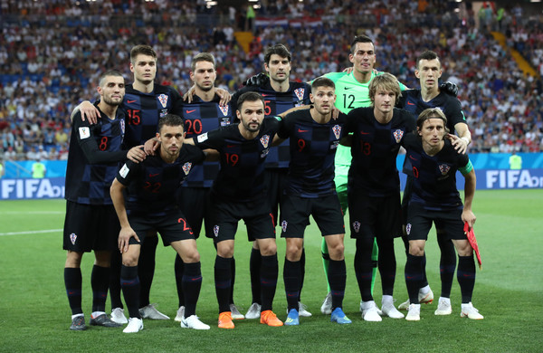 Iceland Vs. Croatia: Group D - 2018 FIFA World Cup Russia [sports,team,team sport,ball game,player,sport venue,social group,soccer,football player,soccer player,2018 fifa world cup,group d match,russia,iceland,croatia,rostov-on-don,rostov arena,croatia: group d,team]