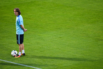 Luka Modric Croatia Training Session - UEFA Euro 2016